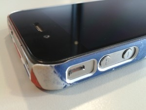 Cygnett iPhone Hard Case - Great Britain Union Jack Series
