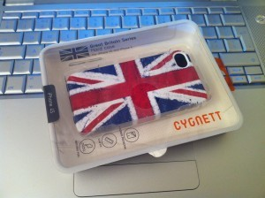 Cygnett iPhone Hard Case - Great Britain Union Jack Series