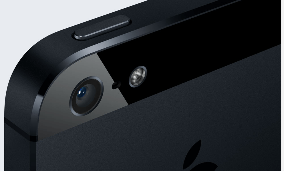 iPhone 5 iSight Camera