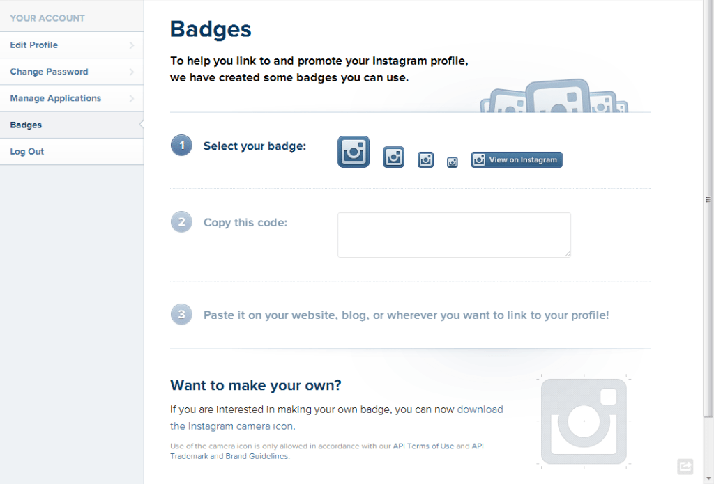Instagram Profile Editor - Badges