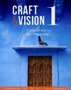 Craft and Vision 1 - Eleven Ways to Improve Your Photography