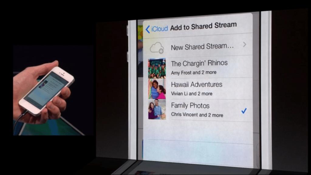 iCloud - Shared Photo Stream