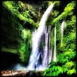 Tiu Kelep Waterfall - HDR - Edited with Photoforge2