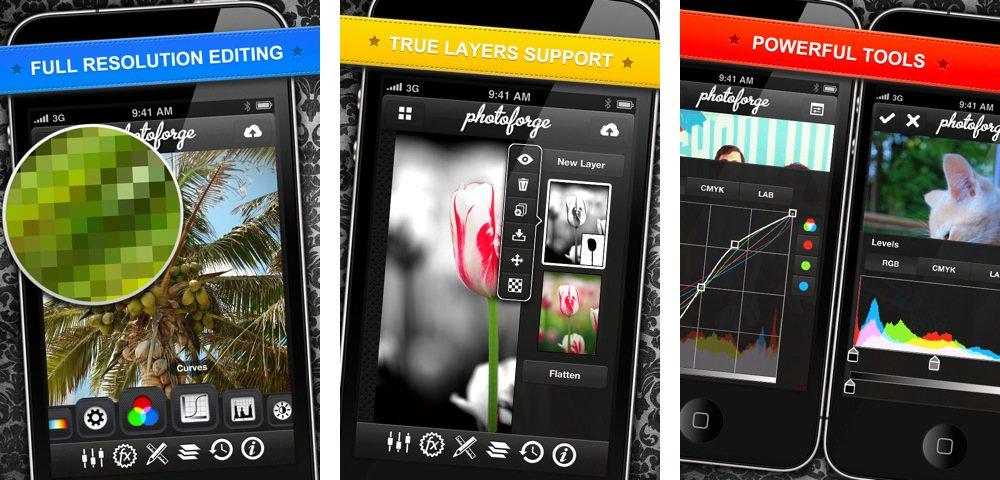 Photoforge2 UI