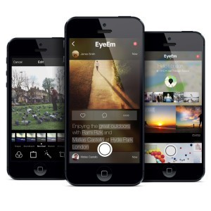 New EyeEm for iOS7