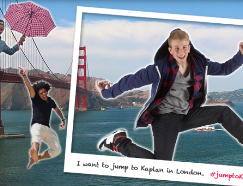 Post your Jump Photo to Instagram and WIN 2-Week English Course in The City of Your Choice