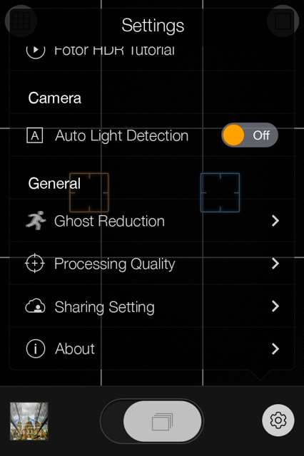 FotorHDR-Setting-AutoLightDetection