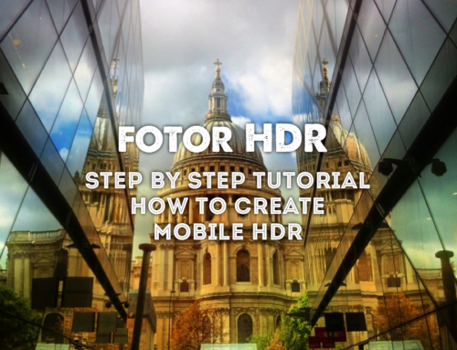 Easy Steps to Create Mobile HDR Photo with Fotor HDR