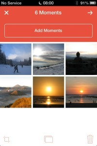 Flipagram - Organising Photos in a Slide Show
