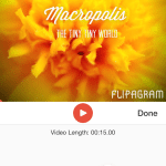 Create Slide Show with Flipagram