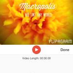 Create Slide Show with Flipagram