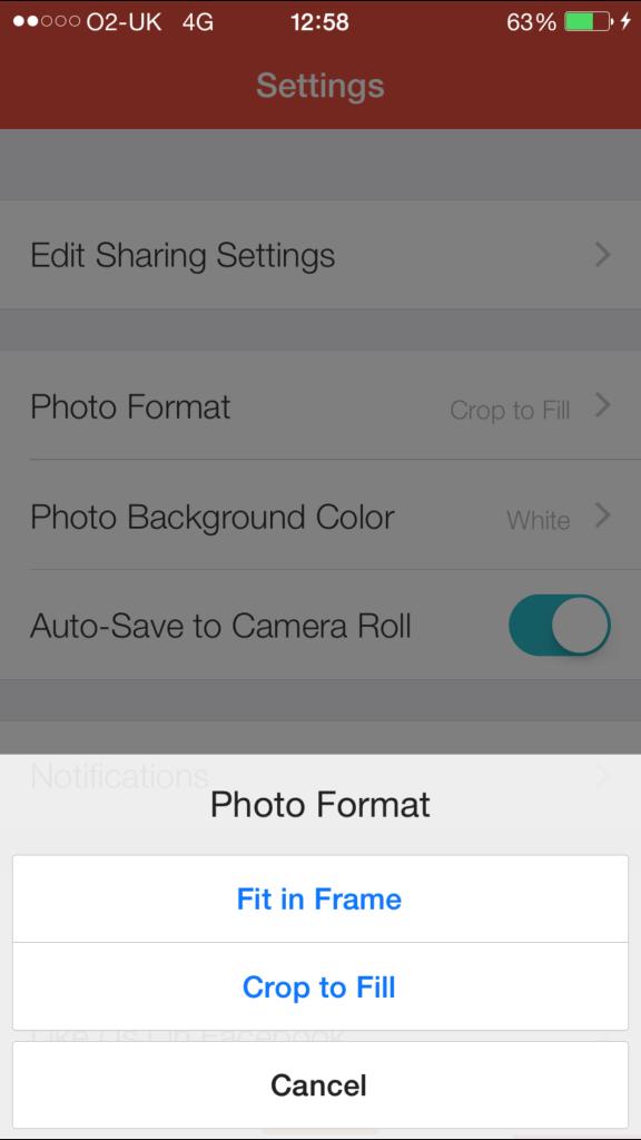 Creating Photo Slideshow with Flipagram