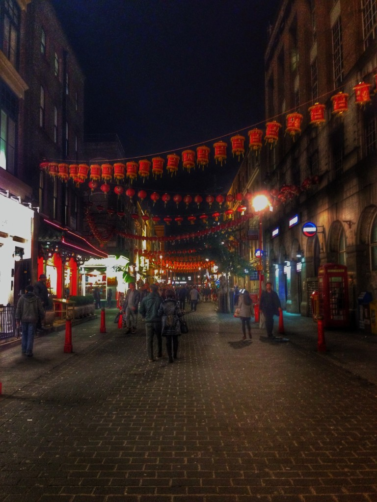London China Town in HDR - Created using Snapseed - HDRScape