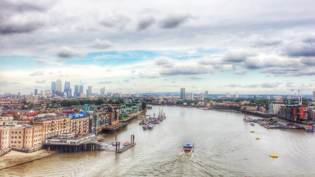 London Thames River in HDR - created using Snapseed HDRScape