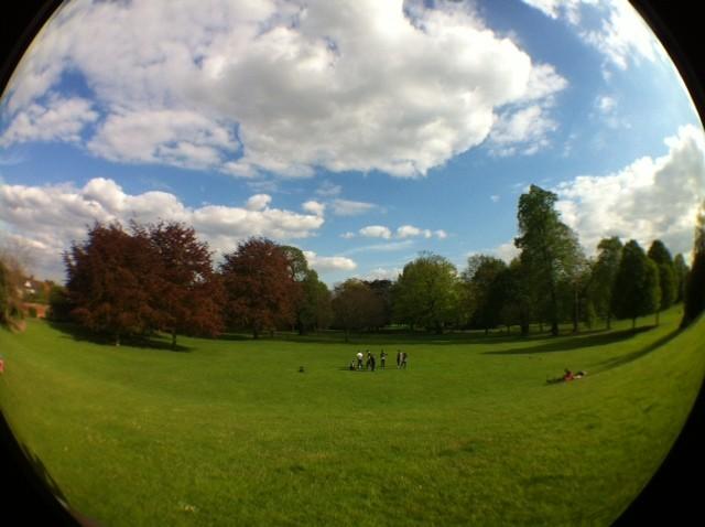 Gunnersbury Park - Taken with Olloclip Fisheye Lens