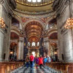 St. Paul's Cathedral in HDR - created using Snapseed - HDRScape