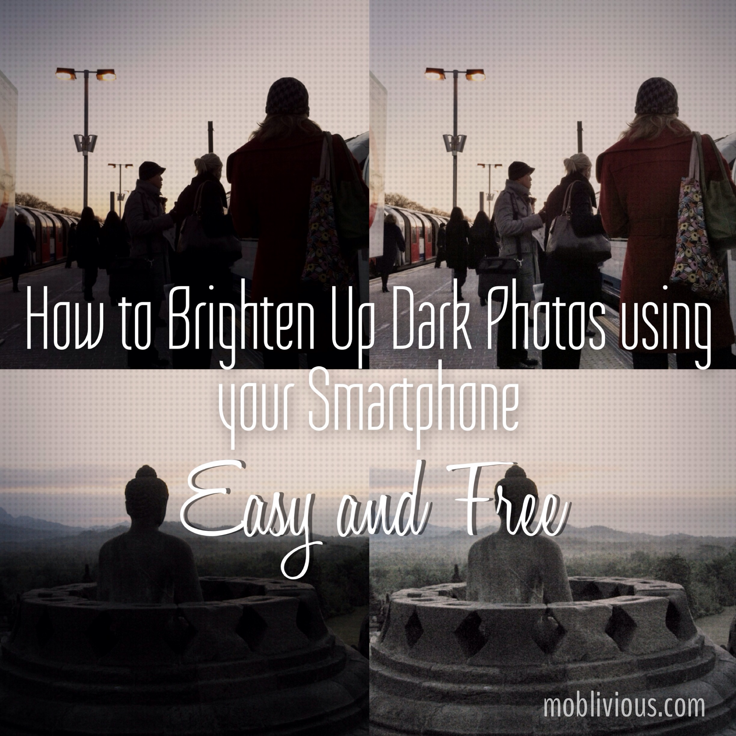 The Simplest Way To Brighten Up Dark Underexposed Photos For Free Using  Your Smartphone
