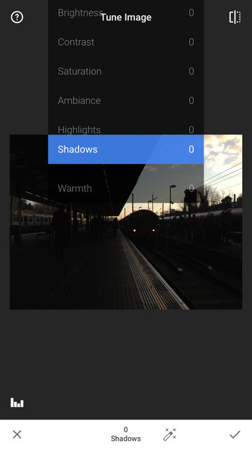 How to brighten your underexposed image using your iPhone