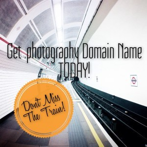 Get .photography domain name today!