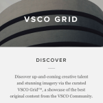 VSCO Cam - VSCO Grid