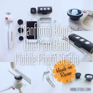 Manfrotto Klyp+ A One-Man-Band Mobile Photo Studio