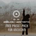 VSCOCam Analog Aesthetic Free Preset Pack