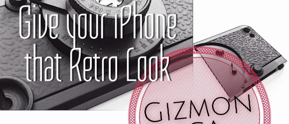 Give Your iPhone5 that Retro Look with Gizmon iCA5 Case