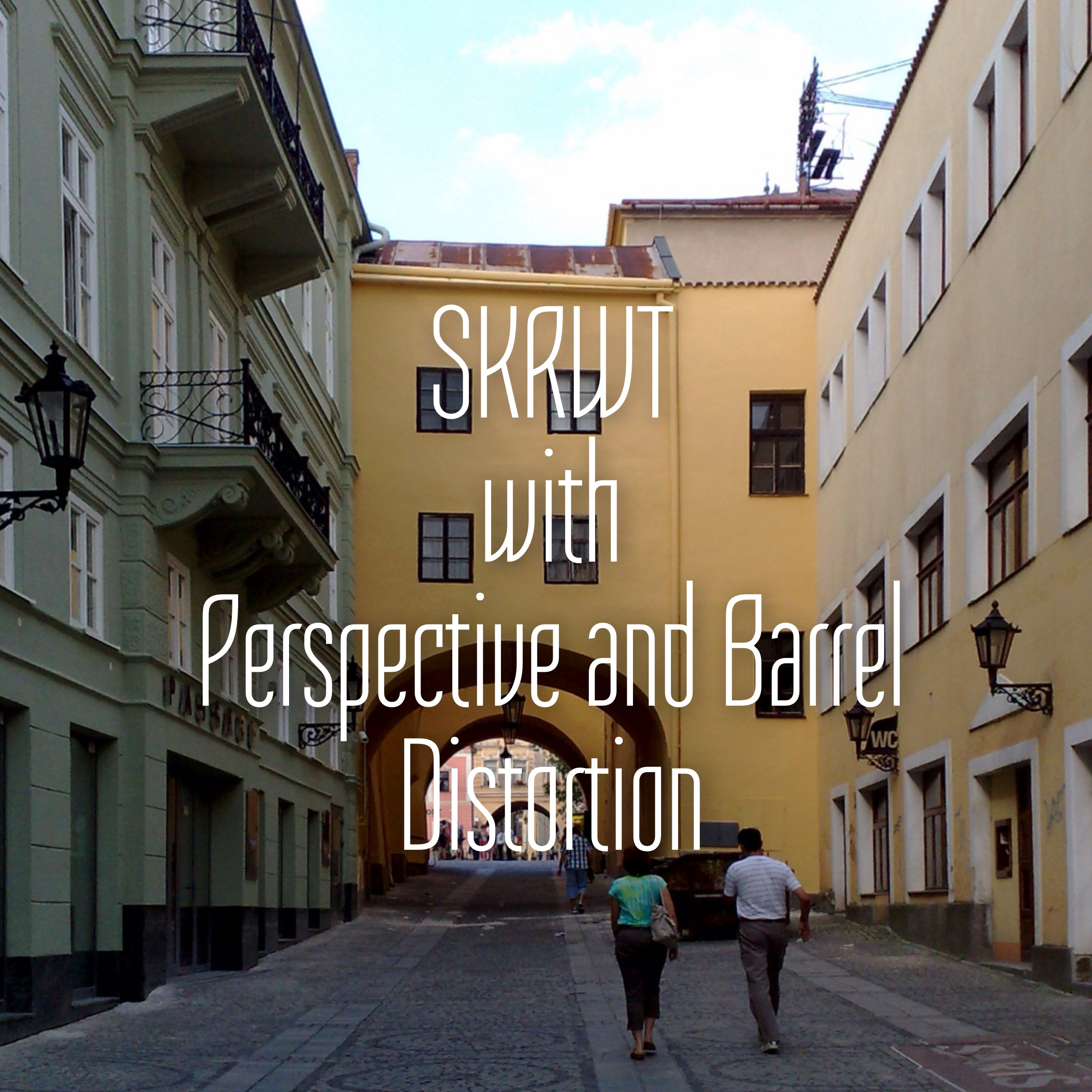 SKRWT With Perspective and Barrel Distortion - Moblivious
