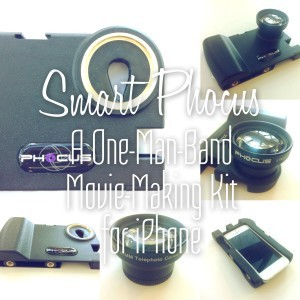 SmartPhocus a one-man-band movie-making kit for your iPhone