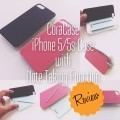 CoraCase - iPhone 5/5s Case with Note-Taking Function
