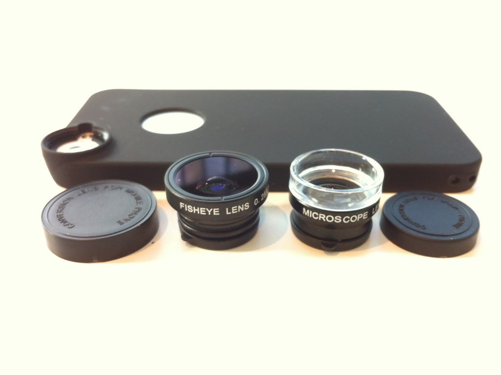 DCKine Fisheye/Macro and Microscope Lens Kit
