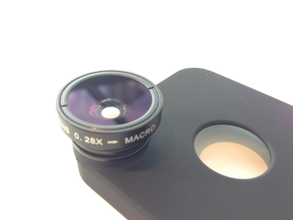 DCKina iPhone 5/5s Back Case with Lens Attached