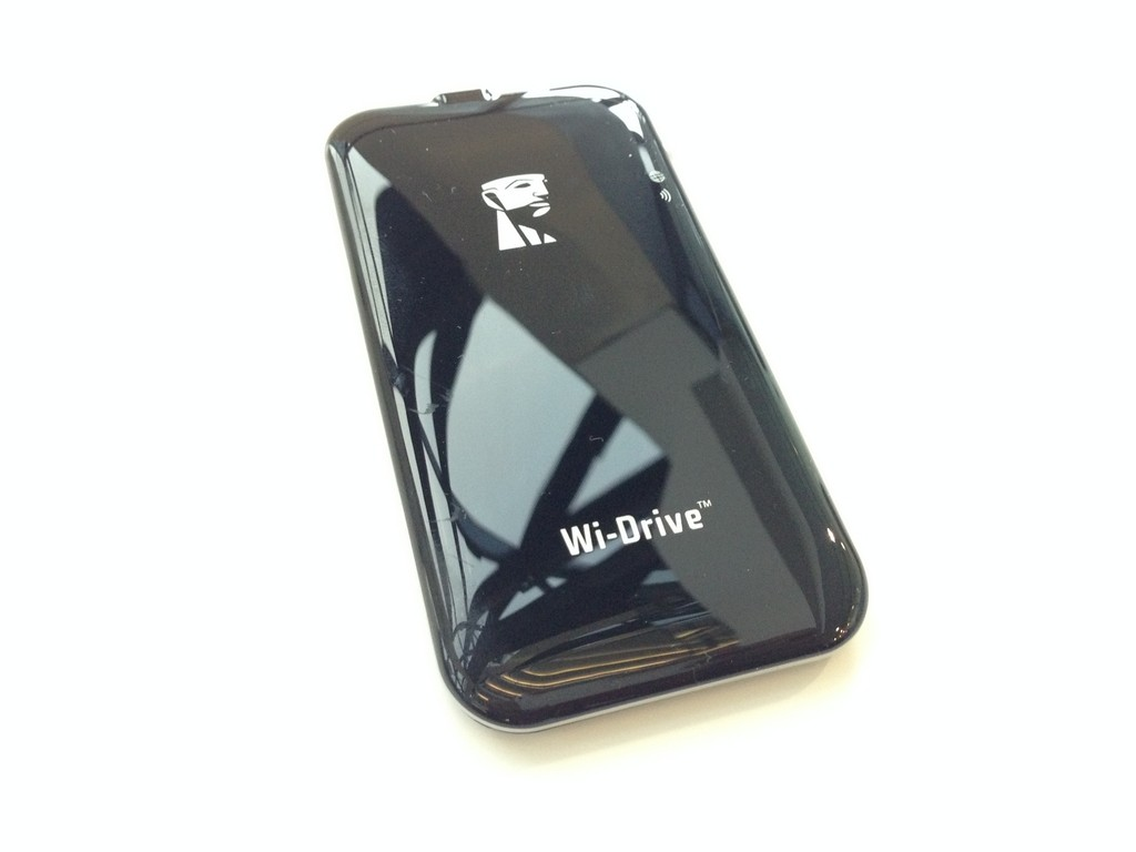 Kingston Wi-Drive: Self-Powered, Wifi Enabled, External Portable SSD Storage