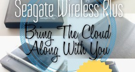 Seagate Wireless Plus - Bring The Cloud Along With You