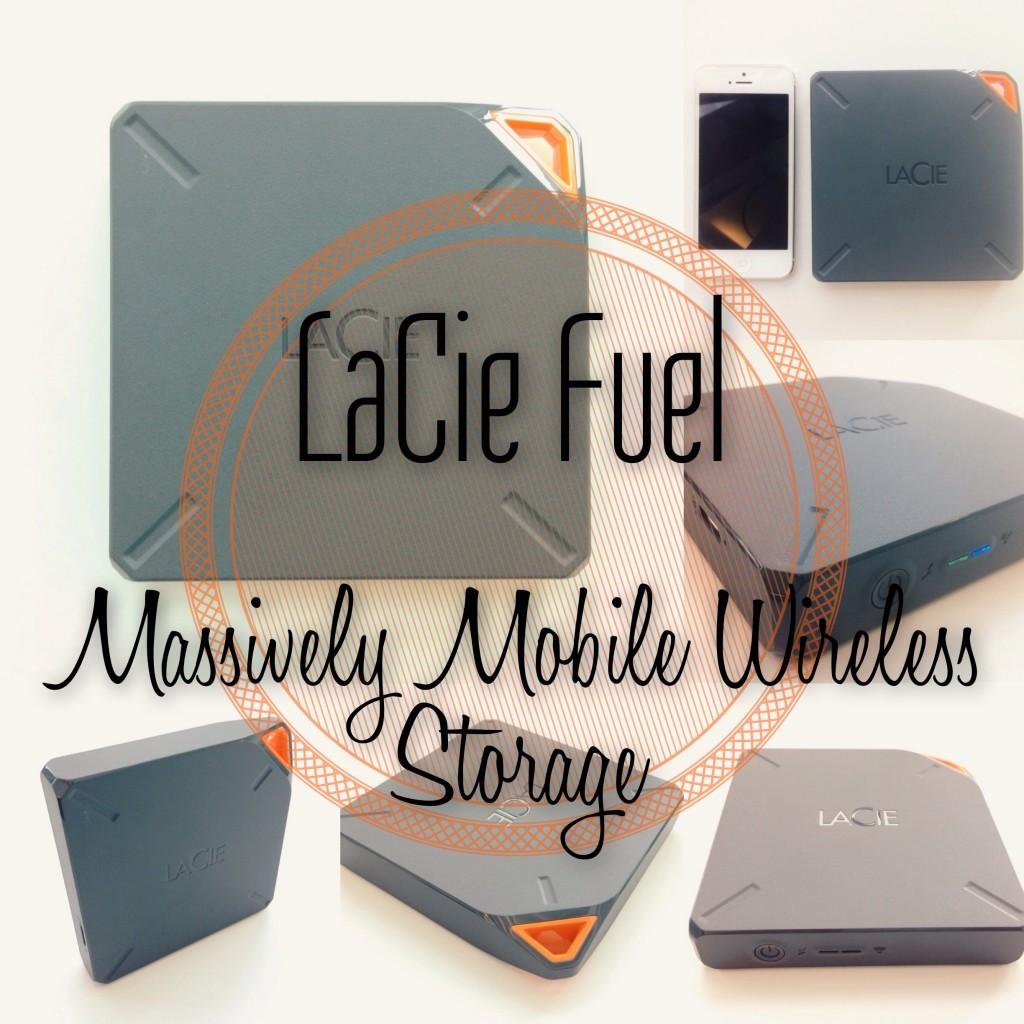 LaCie Fuel - Massively Mobile Wireless Storage