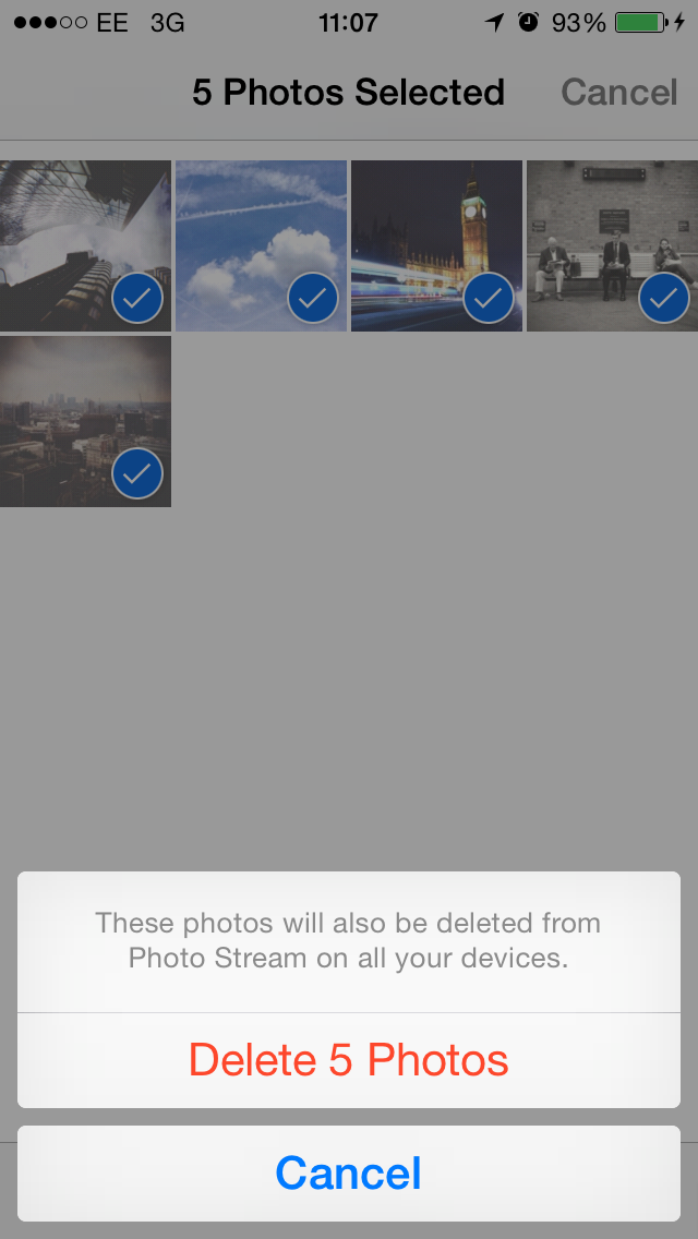 how to find photos in icloud backup folder