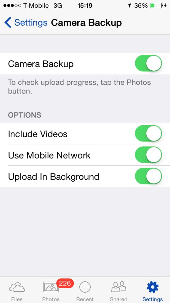 OneDrive - Background Upload