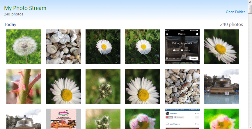 Example of flickr page with related metadata. 1. Title; 2.