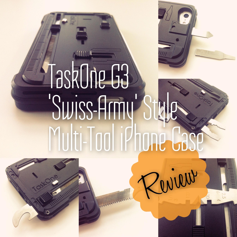 TaskOne G3 'Swiss Army' Multi-Tool iPhone Case