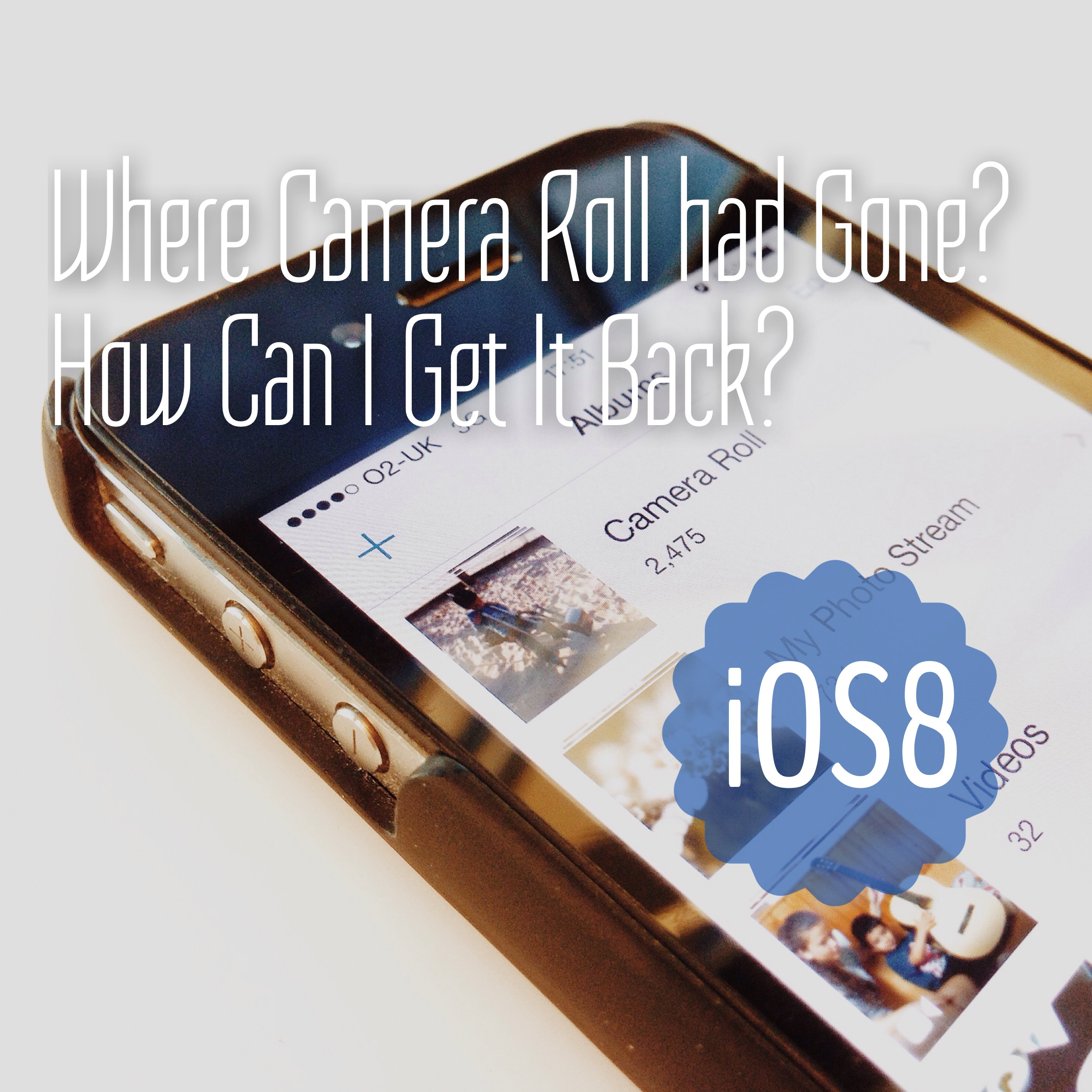 Where Camera Roll Had Gone In iOS8?