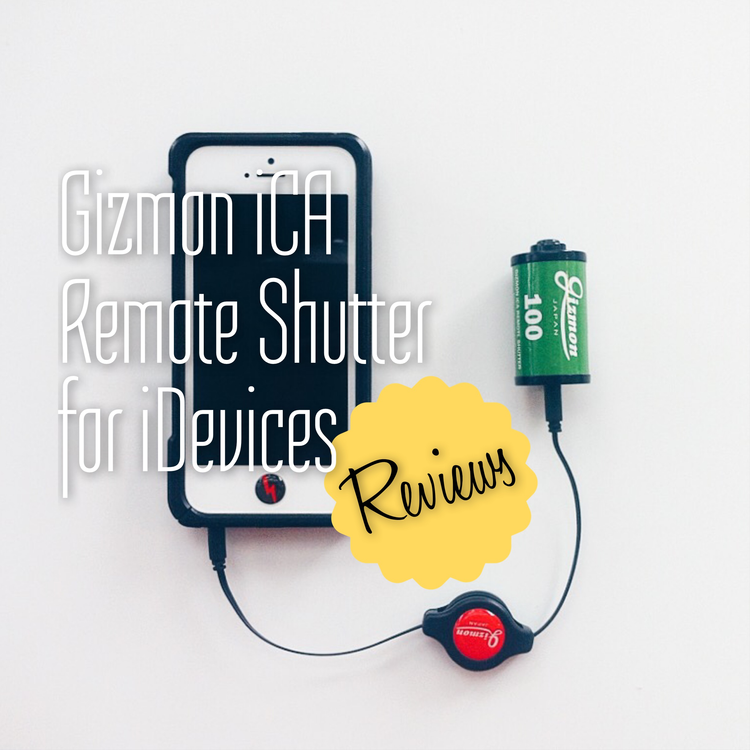 Gizmon iCA Remote Shutter Release for iDevices
