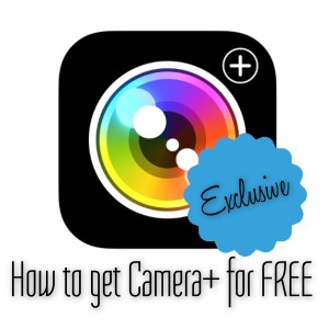 How to get Camera+ For FREE