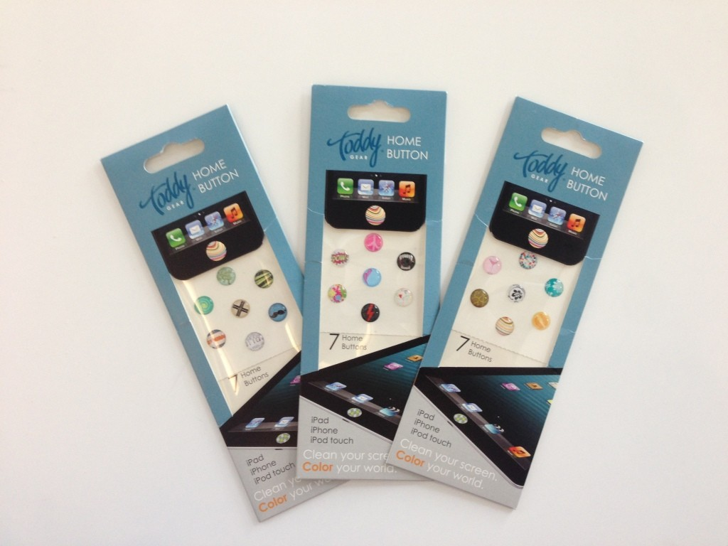 ToddyGear Home Button 'Bumpy Sticker' for iPhone