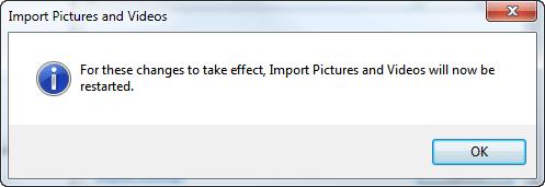 Import Restart