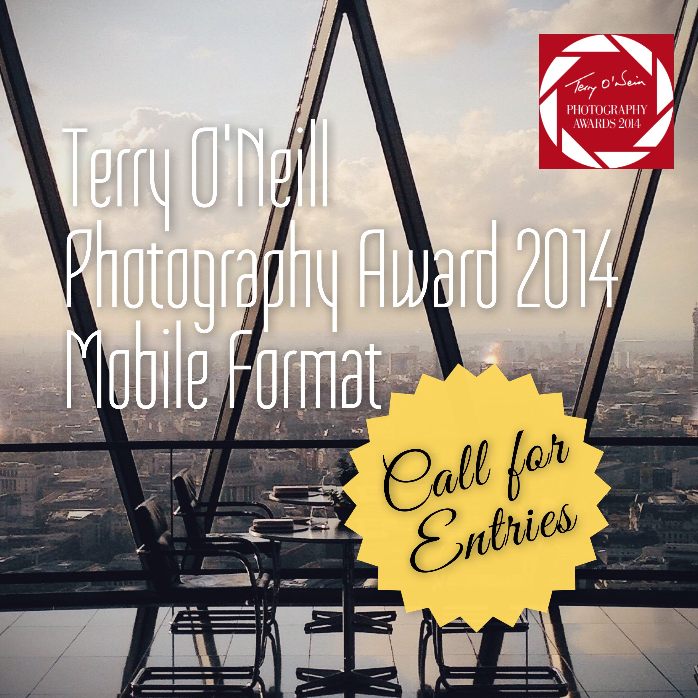 Terry O'Neill Photography Award 2014 Mobile Format