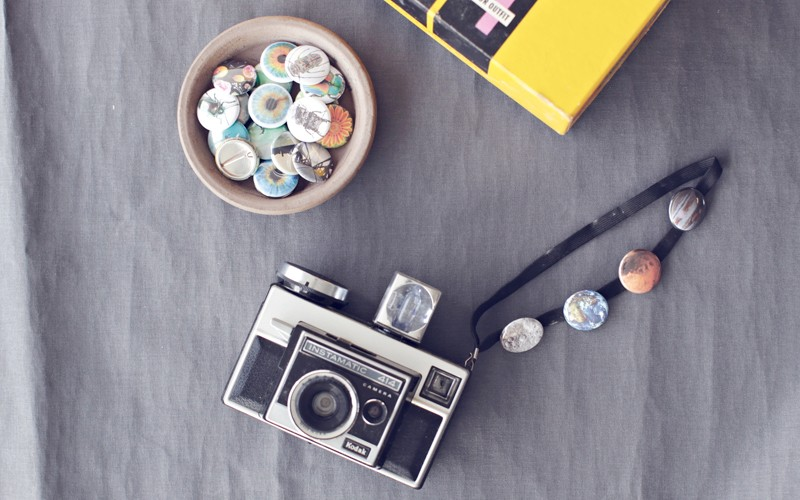 Turn your Instagram Photos into cute little pin buttons