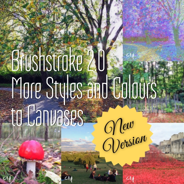 Brushstroke 2.0 brings more styles and colours to canvasses