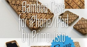 Bamboo Case for iPhone/iPad from Primovisto