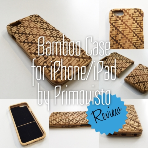 Awesome Bamboo Case for iPhone/iPad from Primovisto