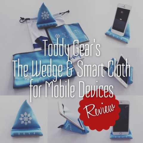 Toddy Gear's The Wedge and Smart Cloth for Mobile Devices